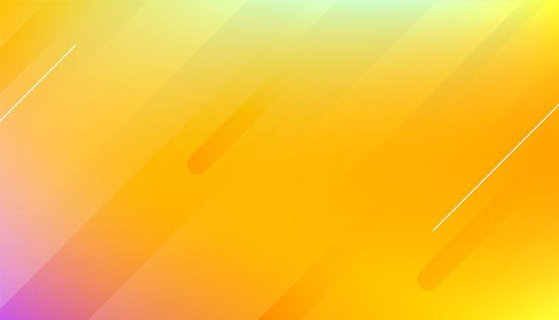 抽象黄色平滑背景设计