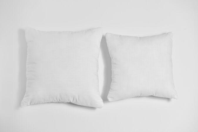 舒适的坐垫面料模型