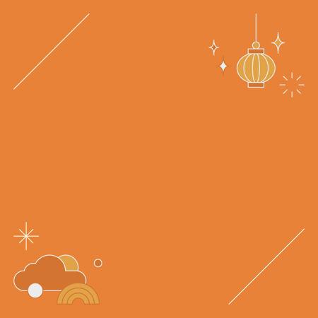 中国中秋节背景